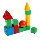 Обучающий материал , набор 14 предметов, цветные