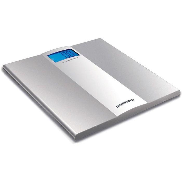 Весы напольные REDMOND RS-710, электронные, до 150 кг, серебристые