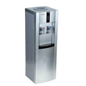 Кулер для воды LESOTO 16 LD/Е, с охлаждением, 615 Вт, серо-черный