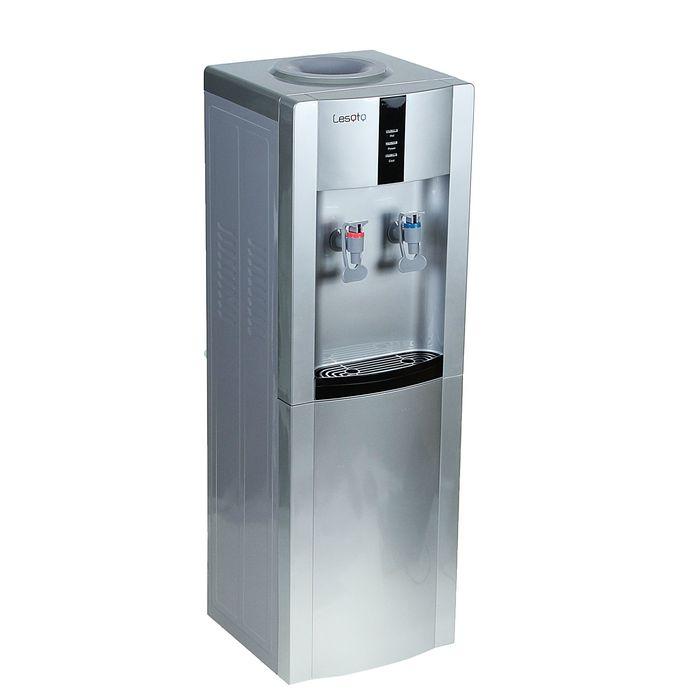 Кулер для воды Lesoto 16 LD/Е, с охлаждением, 500 Вт, серо-черный