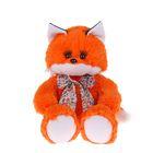 Мягкая игрушка «Лисичка с бантом»