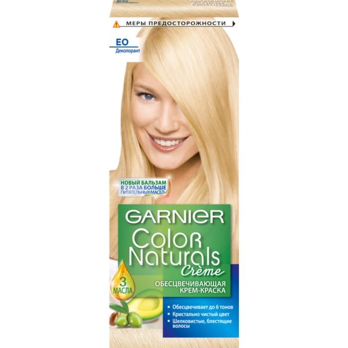 Краска для волос Garnier Color Naturals, E0, супер блонд - фото 1669611