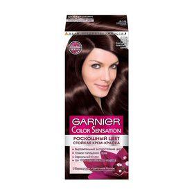 Краска для волос Garnier Color Sensation «Роскошный цвет», тон 4.12, холодный алмазный шатен
