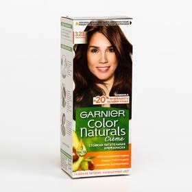 Краска для волос Garnier Color Naturals, тон 3.23, тёмный шоколад