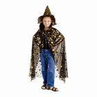 """Карнавальный костюм """"Звездочёт"""", шляпа, плащ, длина 100 см"""