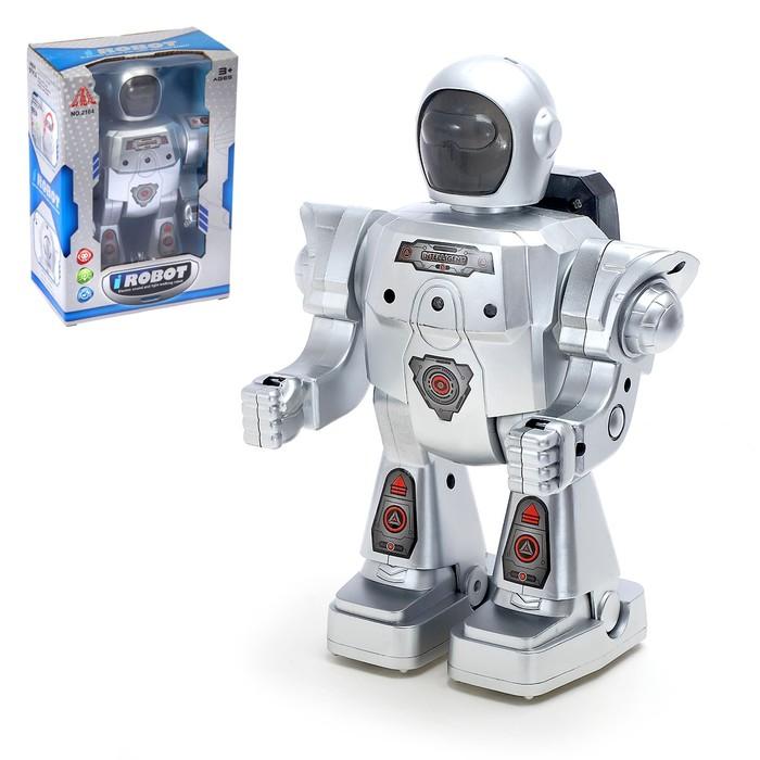 """Робот """"Пришелец"""", световые и звуковые эффекты, ходит"""