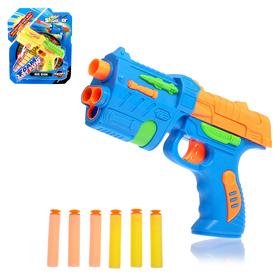 Пистолет «Фом», стреляет мягкими пулями, цвета МИКС