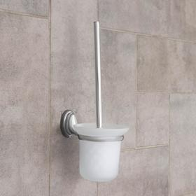 Ruff toilet glass holder with charm