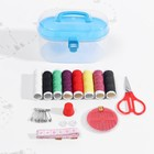 Набор для шитья в пластиковой коробке - фото 395161