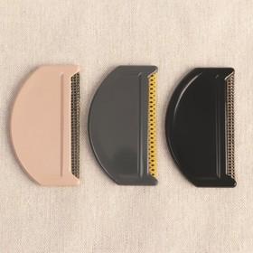 Щётка для удаления катышков, 7,5 × 4,5 × 0,5 см, цвет МИКС - фото 7330456