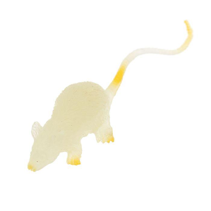 Игрушка для капсул «Мышка», d=45 мм, светится в темноте, МИКС