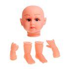 Набор для изготовления куклы - голова, 2 руки, 2 ноги, средний размер