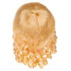 """Волосы для кукол """"Локоны"""" размер большой , цвет блонд"""