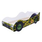 Кровать-машина «Камуфляж»