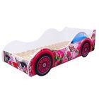 Кровать-машина «Бабочка в розах»