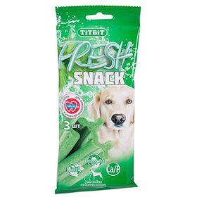 Снеки TitBit Fresh для средних собак, с мятой и хлорофиллом