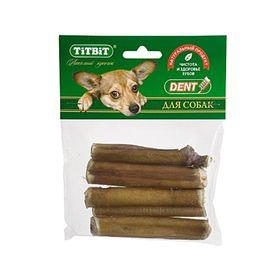 Лакомство TitBit для собак, корень бычий резаный, мягкая упаковка