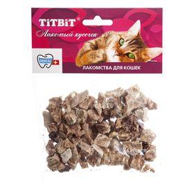 Лакомство для кошек TitBit легкое баранье мягкая упаковка, 10 г