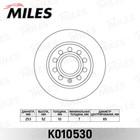 Диск тормозной задний MILES K010530