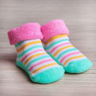 """Носки детские махровые """"Мини Маус"""", Дисней беби, 3-12 мес, 100% хлопок"""