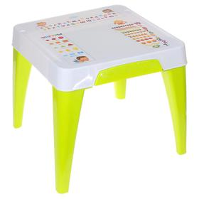 """Детский стол """"Я расту. Обучайка"""", цвет салатовый"""
