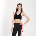 Топ женский спортивный арт.11180 цвет чёрный, р-р 40-42 (S)