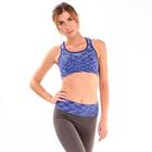 Топ женский спортивный арт.11140С цвет синее мулине, р-р 40-42 (S)