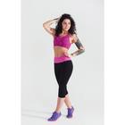 Топ женский спортивный арт.11140С цвет розовое мулине, р-р 40-42 (S)