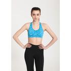 Топ женский спортивный арт.11165С цвет голубое мулине, р-р 40-42 (S)