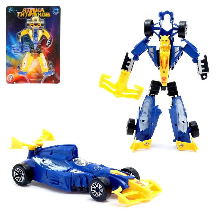 Робот-трансформер «Суперкар», цвета МИКС