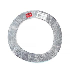 Профиль декоративный TORSO, 15 мм, рулон 13 м, хром - фото 7255231