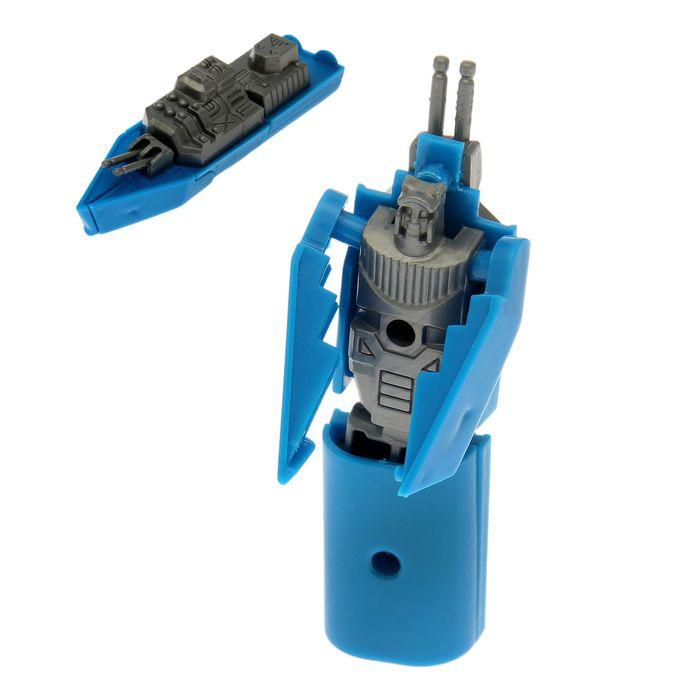 Робот-трансформер «Катер», цвета МИКС
