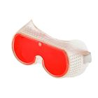 """Очки защитные """"Дельта"""", с поликарбонатными линзами, цвет красный"""