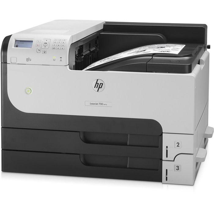 Принтер лазерный черно-белый HP LaserJet Enterprise M712dn (CF236A), А3, Duplex