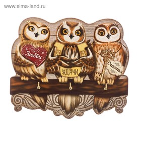 The housekeeper wooden Owls