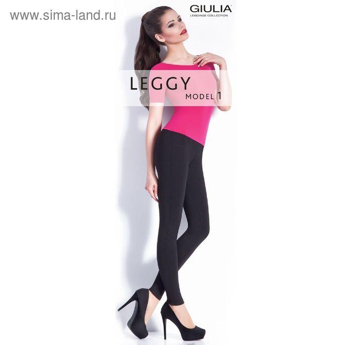 Легинсы женские LEGGY 01 цвет чёрный (nero), размер  M