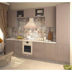 Кухонный гарнитур, 3000 мм, цвет Тополь грей