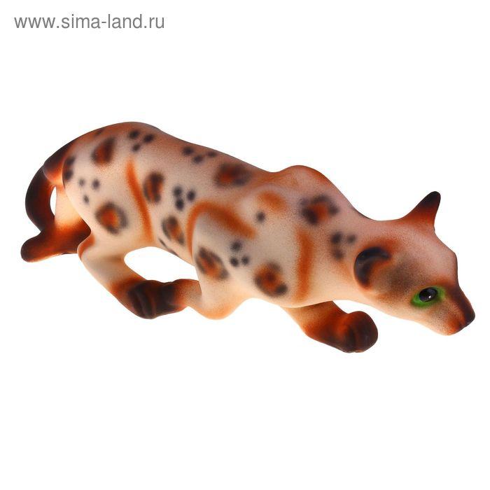 """Сувенир """"Кошка Крадущаяся"""" леопардовая"""