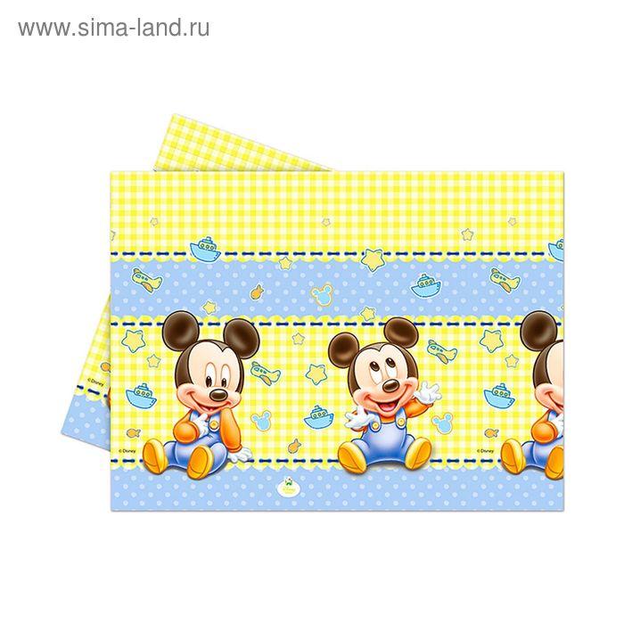 """Скатерть 120*180 см """"Малыш Микки"""" / Baby Mickey"""