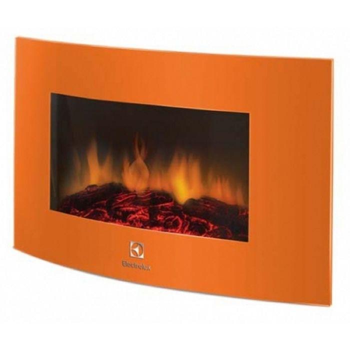 Электрокамин Electrolux EFP/W-1200URLS, оранжевый
