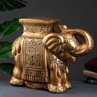"""Фигура """"Слон"""" бронза 21х54х43см"""