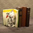 """Подставка для книг """"Котята - А"""", зеленый 20см"""