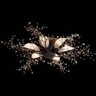 """Люстра """"Сакура"""", 6 ламп, 60 Вт, Е14, античная медь"""