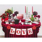 "Set for wedding design ""LOVE"""