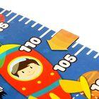 """Ростомер фигурный с передвижным элементом на магните """"Растет герой"""", 150 см в наличии - фото 105769809"""