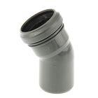 Отвод канализационный, 50 мм, 30°