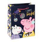 "Пакет подарочный ""Пеппа и птица"", 23 х 18 х 10 см, Peppa Pig"