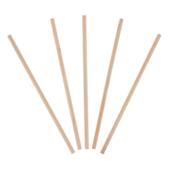 Палочки для декора диаметр 10 мм, набор 5 шт.