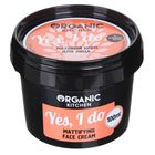 Крем для лица матовый Organic shop Yes, I do, 100 мл