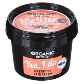Матовый крем для лица Organic Kitchen Yes, I do, 100 мл